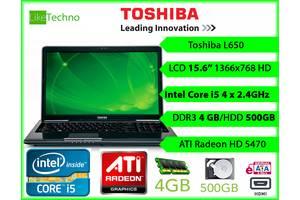 б/в Ігрові ноутбуки Toshiba Toshiba Satellite L650
