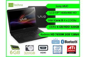 б/в Ігрові ноутбуки Sony Toshiba E series