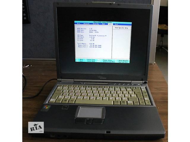 купить бу Ноутбук Fujitsu-Siemens Lifebook e7010 с LPT и COM в Киеве
