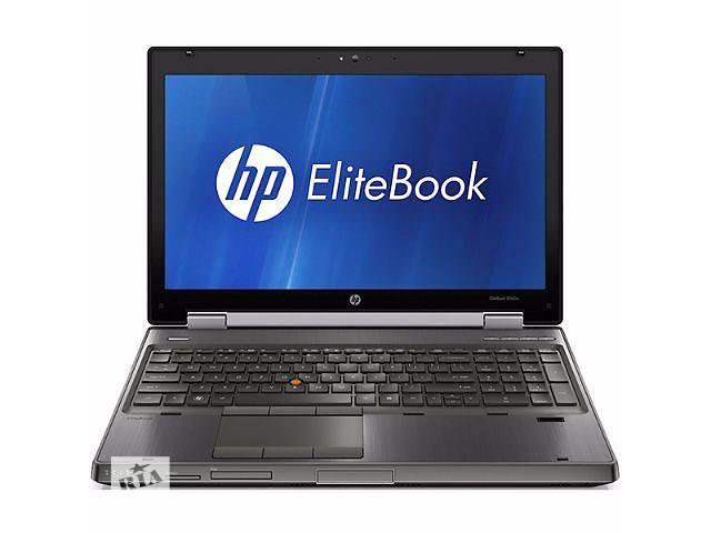 """купить бу Ноутбук с Европы! HP Elitebook 8560w / 15.6"""" / i7 2820QM  2.3 GHz / 4GB DDR3 / 750GB / Quadro 2000m в Знаменке (Кировоградской обл.)"""