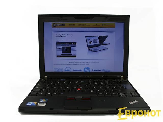 купить бу Ноутбук Lenovo ThinkPad X201 (2,53 ГГц, 3 Гб, 160 Гб, WebCam) в Киеве