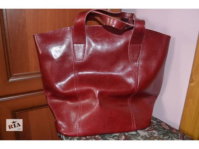 продам Новая шкірянна сумка бу в Черновцах