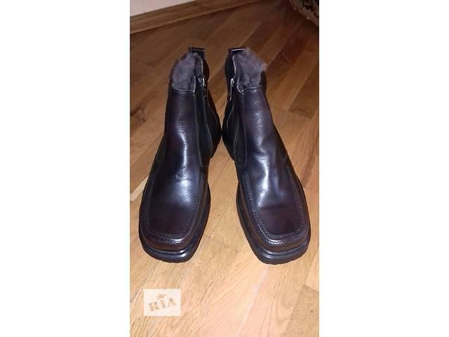 купить бу  Новая зимняя польская кожаная обувь в Стрые