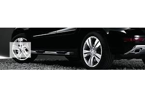 Новые Боковые пороги, подножки Mercedes ML-Class