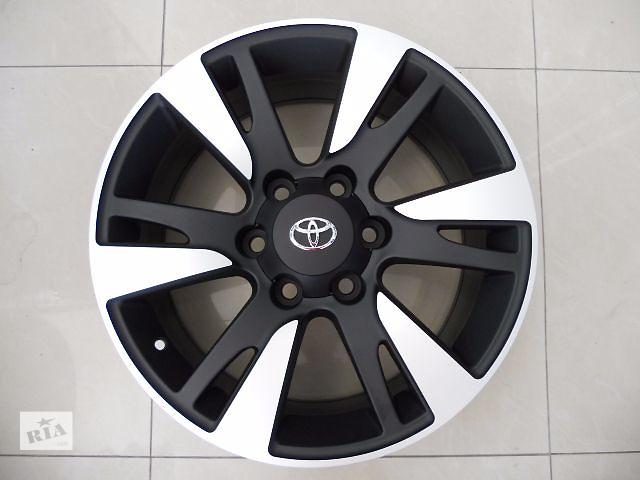 Цена за диск. Новые R18 6x139.7  Оригинальные литые диски на Toyota Prado 120/150, FJ CRUISER Hilux Производство Я- объявление о продаже  в Харькове