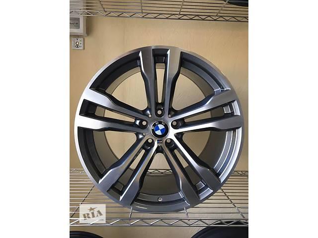 бу Новые R20 5x120 Оригинальные разноширокие диски на BMW X6 стиль 468. Германия в Харькове