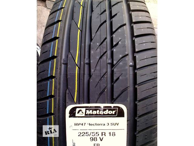 купить бу Новые шины 225/55 R 18 98V Matador MP47 Hectorra 3 SUV FR в Киеве