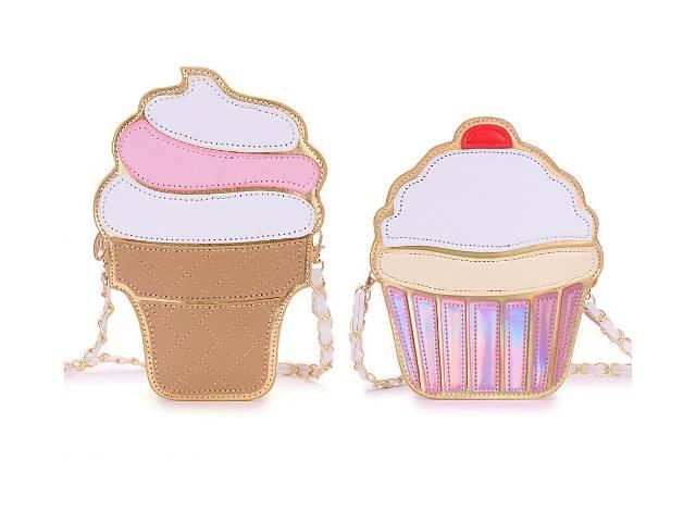 купить бу Новые стильные сумки мороженое, пирожное, бриллиант. в Киеве