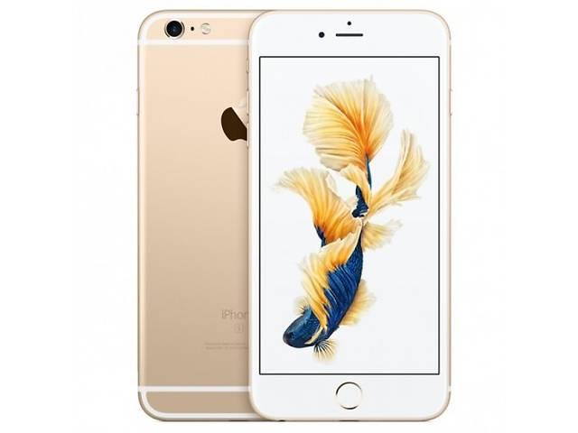купить бу Новый Apple iPhone 6 Plus 16Gb Gold с гарантией 1 год, покупка в сертифицированом магазине, наложенный платёж, в наличии в Киеве