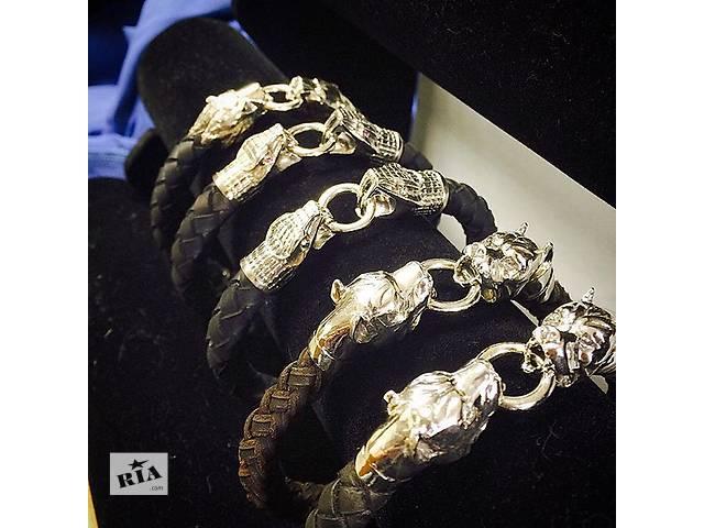 продам Новый серебряный браслет ВУЛЬФ бу в Киеве