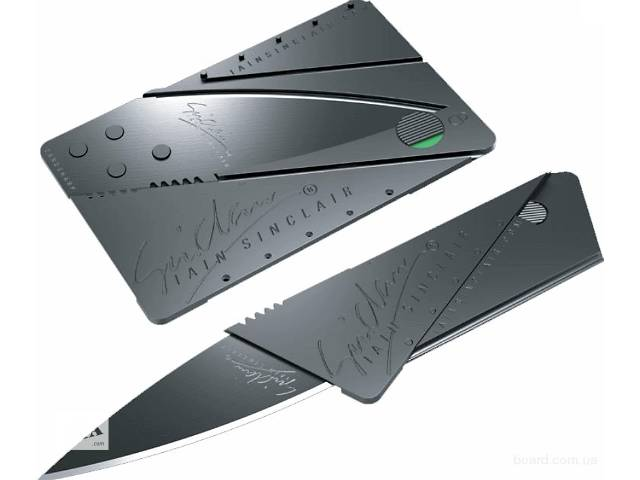 Нож кредитная карта- объявление о продаже  в Киеве