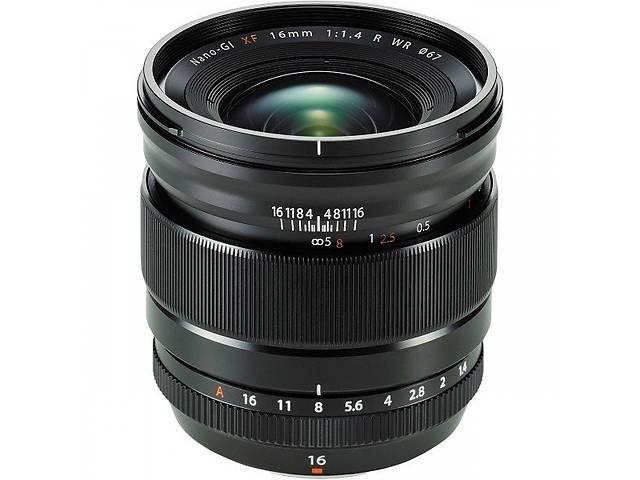 продам Объектив Fujifilm XF 16 mm f/1.4 R WR (16463670) бу в Киеве