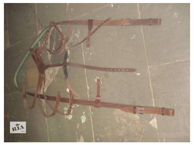 одноконная упряж. шлея подшорок узда вожжи посторонки- объявление о продаже  в Виннице