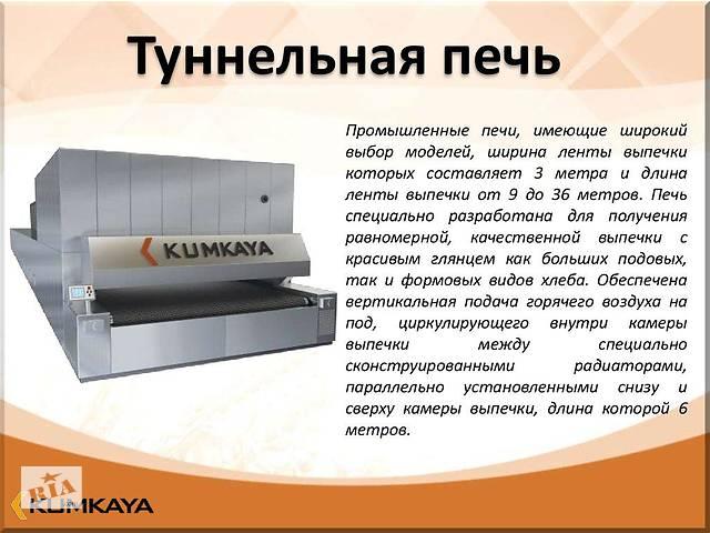 бу Одноярусная туннельная печь TU 3009 Kumkaya в Киеве