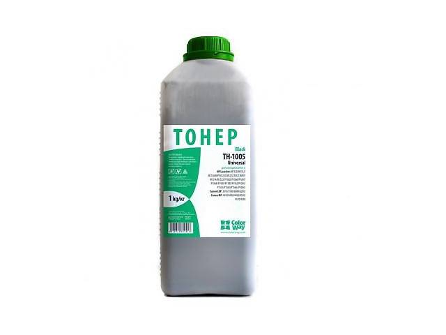 продам Тонер ColorWay HP LJ P1005/P1505 Universal Bottle 1 кг (TH-1005-1B) бу в Дружковке