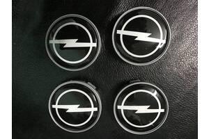 Opel Tigra Колпачки титановые диски 55,5 мм / Колпачки на диски Опель Тигра
