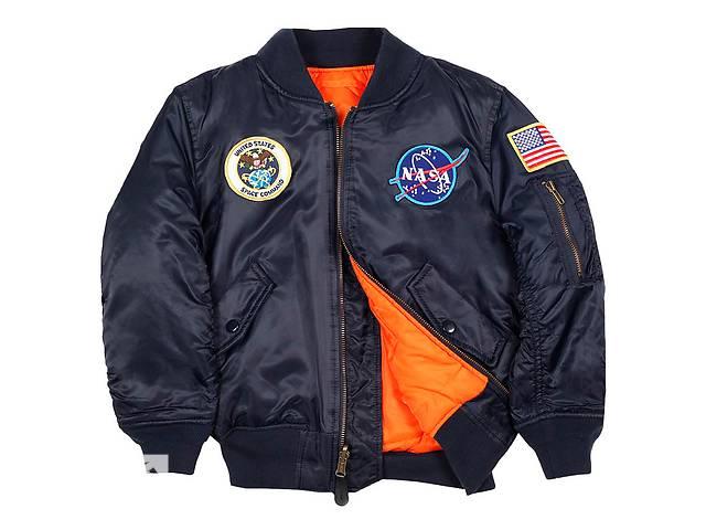 купить бу Оригінальна льотна куртка Youth NASA МА-1 Alpha Industries в Львове