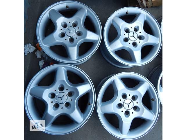 купить бу Оригинальные диски Mercedes ML W163 8 R16 5X112 ET62 в Виннице