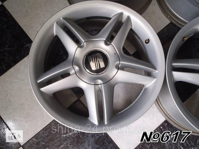 бу Оригинальные диски Seat R17 5x100 7Jx17H2 ET38 1M0 601 025J VW/Audi в Кременчуці