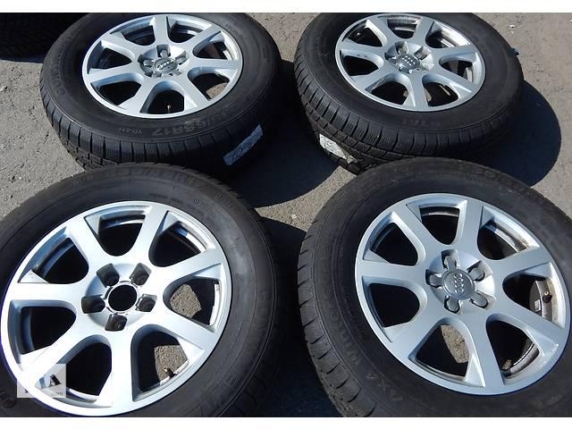 купить бу Оригинальные кованые диски HUNGARY 7 R17 5X112 ET37 8R0 601 025E Mercedes без пробега по Украине в Вінниці