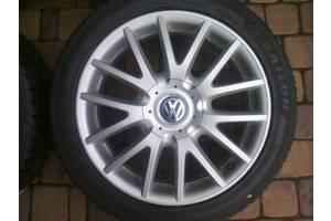 Новые диски с шинами Volkswagen Golf