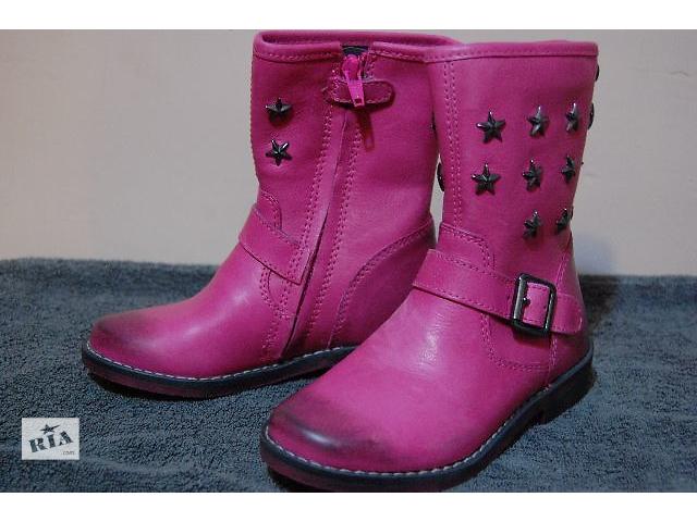 купить бу Демісезонні чоботи для дівчинки 28 розмір Braqeez BQZ в Україні 4a83a20911480
