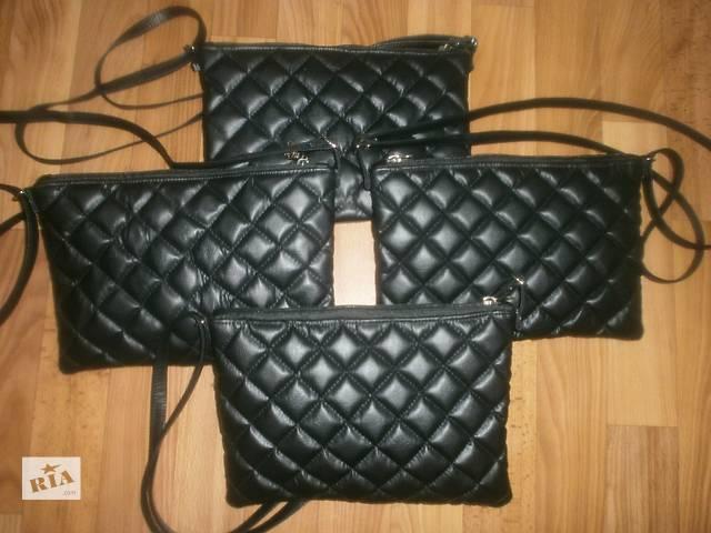 купить бу Отдам на реализацию Стеганные сумки из кож зама Ручной работы в Киеве