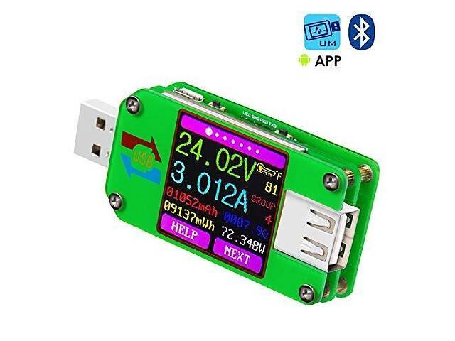 продам Многофункциональный USB-тестер RuiDeng UM24C (с возможностью подключения к Android и Window) бу в Киеве