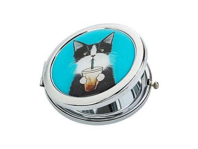 Карманное зеркало Ziz Кот со стаканом - R142665- объявление о продаже  в Одессе