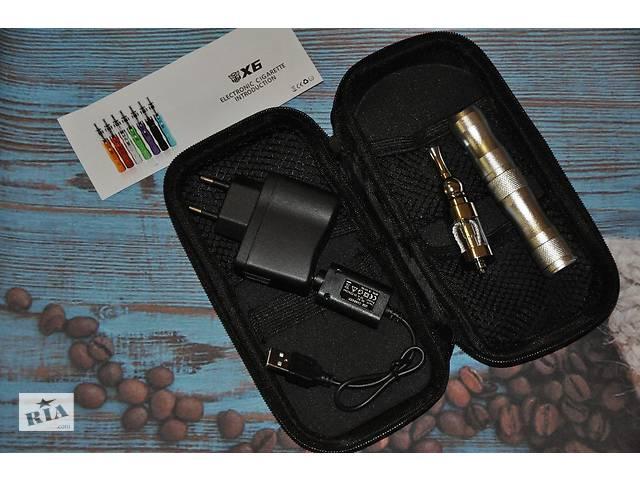 Электронная сигарета EGO X6 вейп, полный набор + подарок
