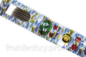 Спицы носочные металлические  Panda Xiong Mao (25см/5шт):№12  (2.5мм)