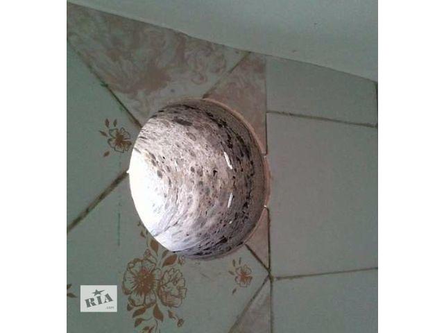 продам Отверстие для вытяжки без пыли.Установка решетки.Алмазное сверление. бу в Киеве
