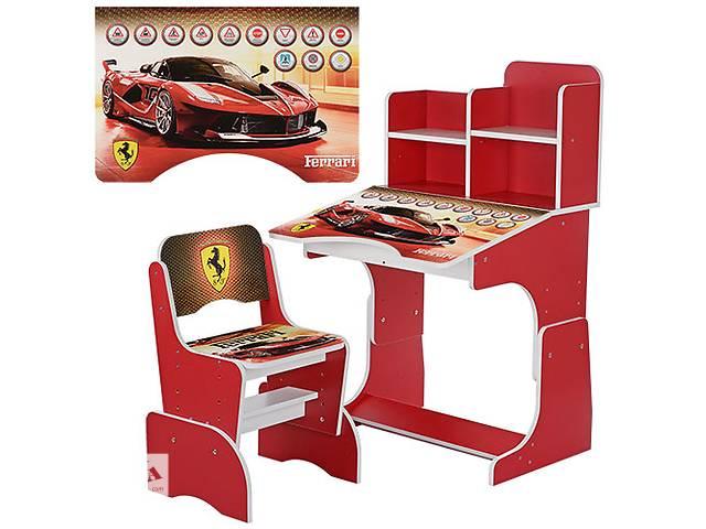 продам Парта растишка W 2071-20 Ferrari, со стульчиком, красная  бу в Одессе