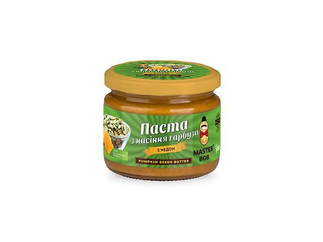 купить бу Паста Master Bob з насіння гарбуза з медом 300 г (4820202930174)  в Украине