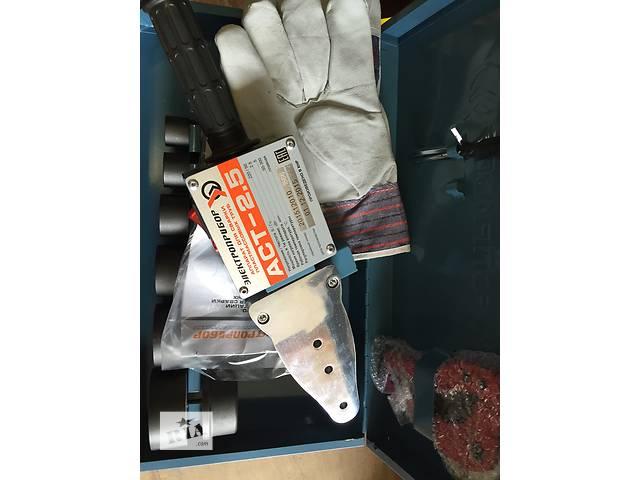 продам Паяльник АСТ-2.5 для пласт труб (2500Вт) Электроприбор (20-63мм) Крым бу в Севастополе