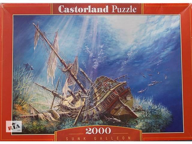 продам Пазлы - Мозаика 2000 шт. Castorland Puzzle - Sunk Galleon бу в Новой Каховке