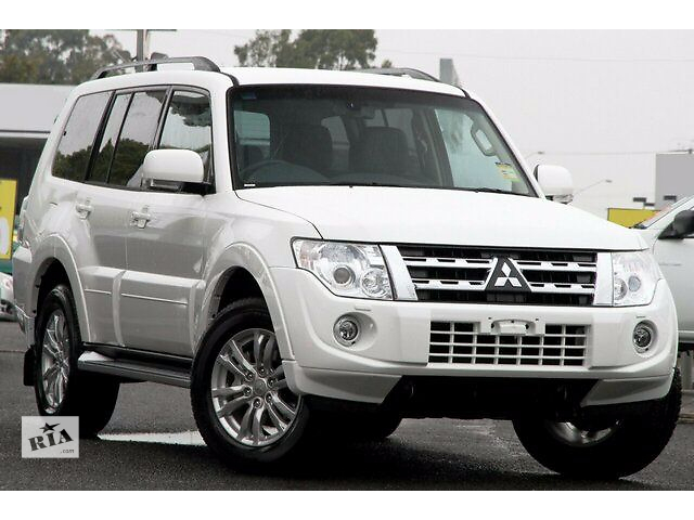 купить бу Передний бампер 2012 модельного года Mitsubishi Pajero Wagon 4 6400В758WB в Луцке
