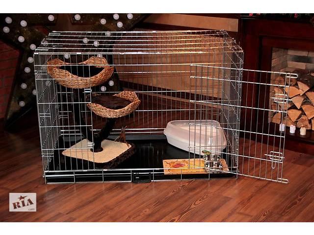 купить бу Переноска вольер манеж клетка для собак и кошек №4, 78х55х62h в Киеве