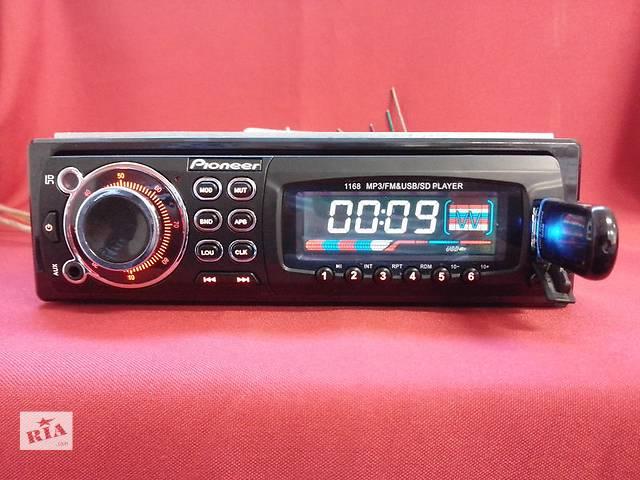 бу Pioneer 1168 (USB, SD, FM, AUX, ПУЛЬТ)  в Запорожье