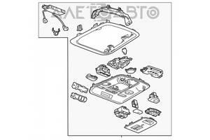 Плафон освещения перед Cadillac ATS 13- серый под люк 84009547 разборка Алето Авто запчасти Кадиллак АТС