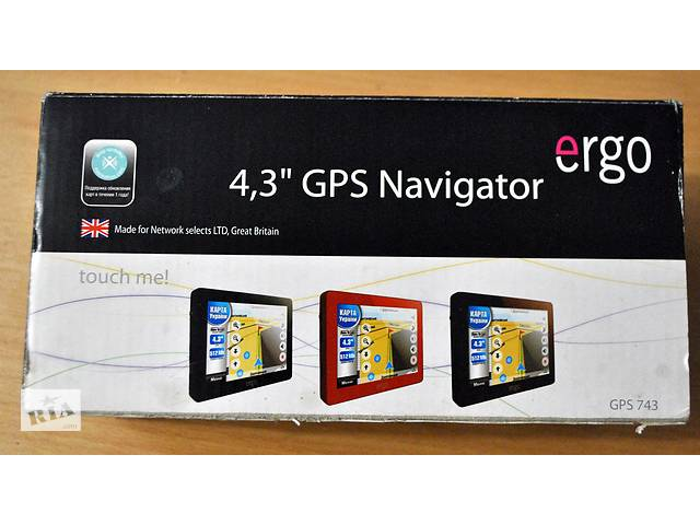 Планшет GPS навігатор Ergo GPS 743- объявление о продаже  в Києві