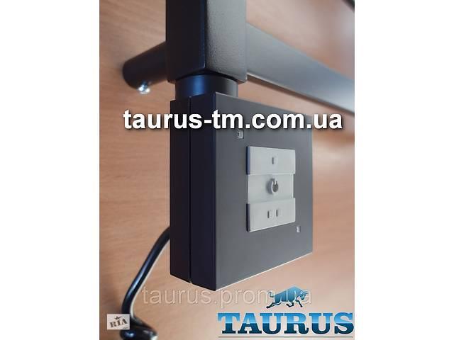 купить бу Чорний квадратний ТЕН TERMA KTX1 Black з управлінням на кнопках 2 режими + LED, Польща. Потужність:120-1000W в Смілі