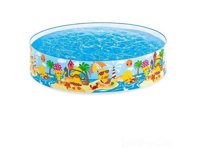 бу Детский каркасный бассейн Intex 58477 «Утинный риф», 122 х 25 см в Одесі