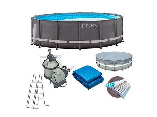 Каркасный бассейн INTEX 26720 (размер 427-107см  ) ***- объявление о продаже  в Одессе