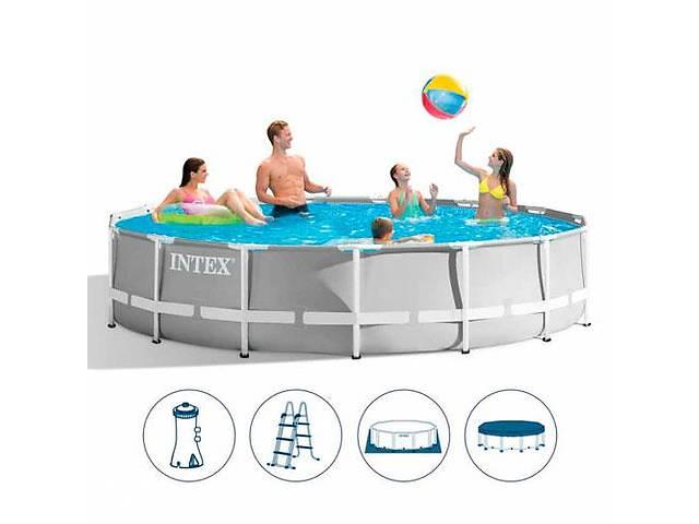 продам Каркасный бассейн INTEX 26724 (размер 457-107см  ) *** бу в Одессе