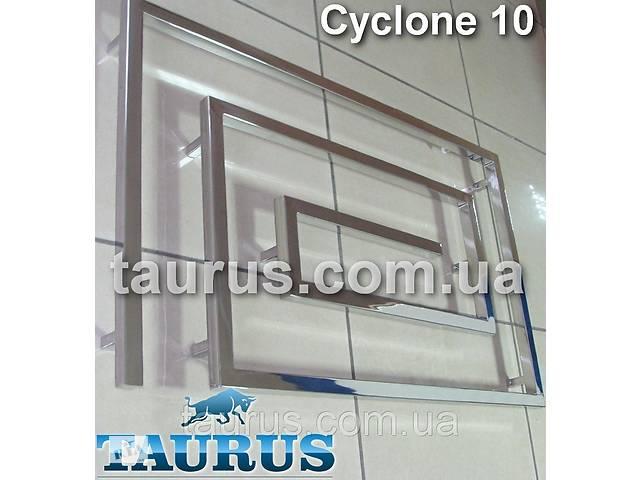продам Огромный полотенцесушитель Cyclone 10/1200 из нержавеющей стали в современный дизайнерский санузел бу в Смілі