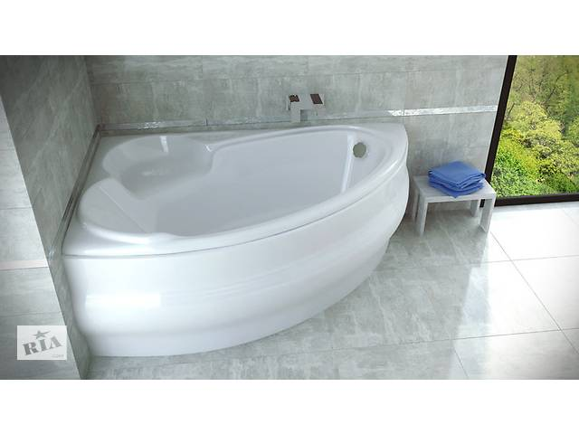 купить бу Угловая акриловая ванна 170х110 155х95 140х95 в Одессе