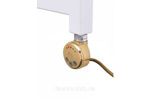 Золотий Електротена TERMA MEG1 GOLD з регулятором 30-65С + LED, Польща. Потужність: 120-1000W у полотенцесушитель