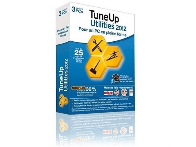 купить бу ПО TuneUp Utilites 2012 Rus на 3ПК Box в Киеве