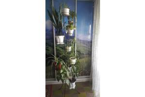 Подставка, стойка для цветов на 9 вазонов.